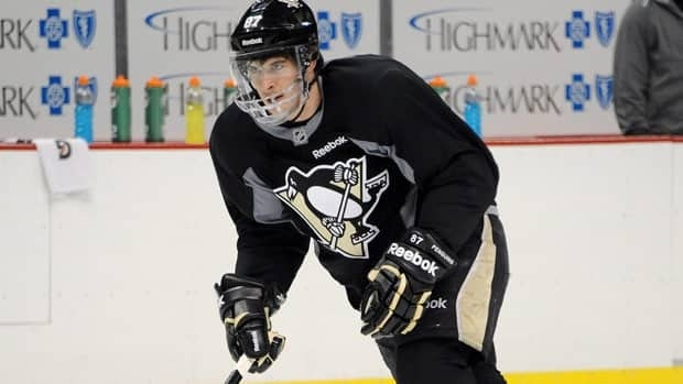Sidney Crosby, seen skating earlier this month, was limited to 36 games this season for Pittsburgh due to his March injury.