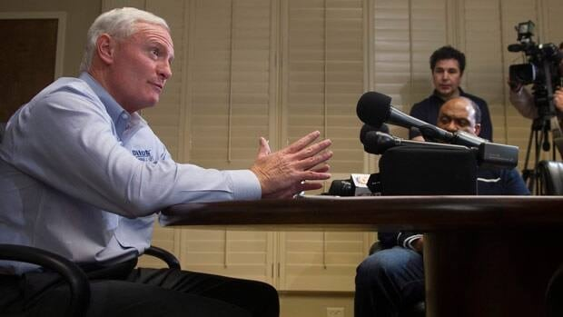 Pilot Flying J CEO and Cleveland Browns owner Jimmy Haslam speaks to the media during a news conference Tuesday following an FBI and IRS raid.
