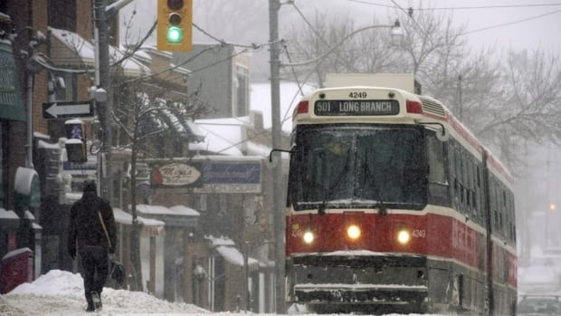 Older TTC streetcars use pneumatic air lines, which can become clogged when moisture inside the lines freezes solid in cold temperatures.