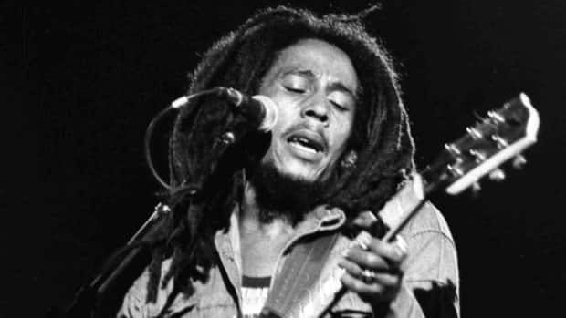 Bob Marley, seen performing in Paris in 1980, played footie with friends at any opportunity.