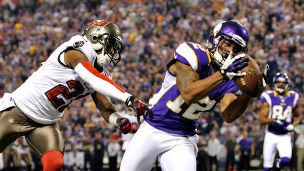Percy Harvin has averaged 70 catches and five touchdown receptions in four NFL seasons.