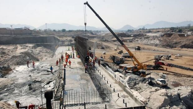 Ethiopia started to divert the flow of the Blue Nile river to construct a giant dam on Tuesday, according to its state media, in a move that could impact the Nile-dependent Egypt.