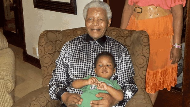 Former South African president Nelson Mandela, 94, has been admitted to hospital for a routine check-up, says the South African government.
