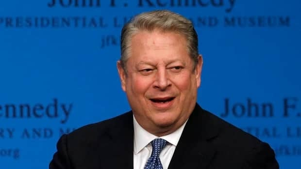 Al Gore told Michael Enright, host of CBC Radio's The Sunday Edition, the world would benefit from the U.S. re-establishing itself as a policy leader.