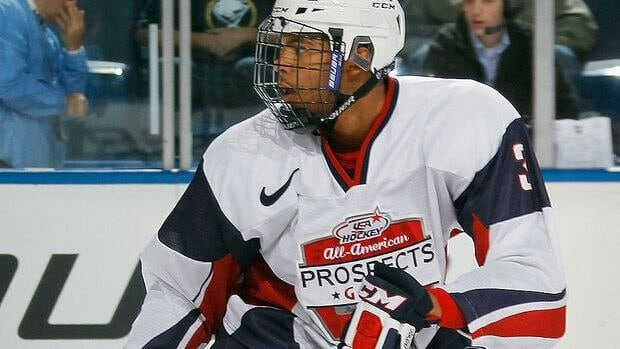 Defenceman Seth Jones, the No. 1-ranked North American skater for this summer's NHL draft, had 14 goals and 56 points in 61 games for the WHL's Portland Winterhawks this season.