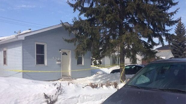 Police have taped off a home in the Regina's north end after a man was found dead early Friday morning.