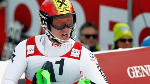 Marcel Hirscher has won five races and finished on the podium 13 times this season.