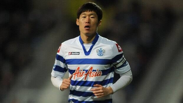An Everton fan was found guilty of racially abusing Ji-Sung Park of the Queens Park Rangers, shown here, last October.
