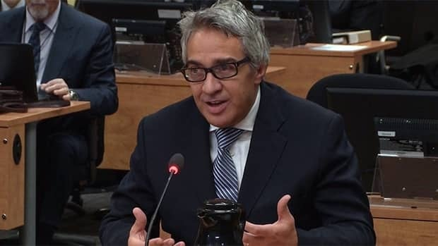 Giuseppe Borsellino told the commission that he gave Dupuis gifts including hockey tickets and a trip to Italy.