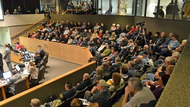 Dozens of people came out to Sudbury's council meeting Tuesday night to express their views on council's decision to fire the Ontario Ombudsman.