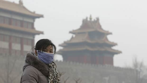 Air quality in Beijing was the worst on record on Saturday and Sunday, according to environmentalists, as the city's pollution monitoring centre warned residents to stay indoors amid pollution levels that were 30-45 times above recommended safety levels.