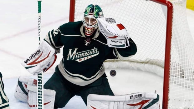 Minnesota Wild goalie Niklas Backstrom hurt his leg earlier this week and has been replaced as his team's starter by Josh Harding.