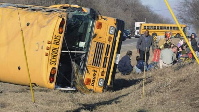 Illinois school bus crash kills adult in vehicle but students OK