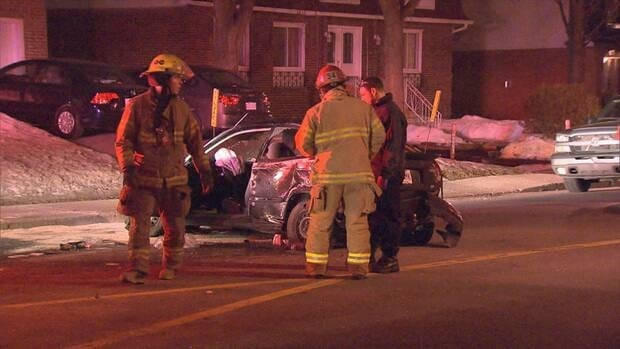 Montreal police are investigating a collision that happened overnight in Kirkland.