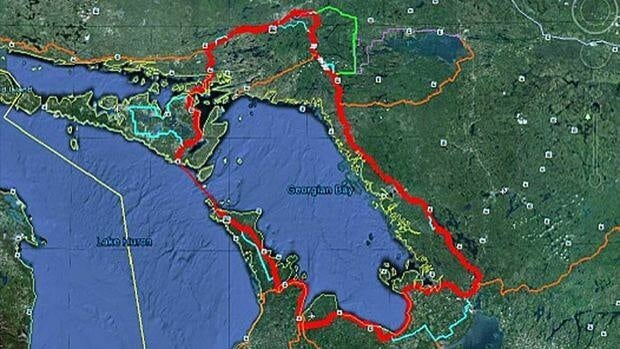 Advocates say it's essential minor highways on Manitoulin Island have their shoulders paved as part of the 900 km cycling link between northern and southern Ontario, known as the Georgian Bay Cycling Route.