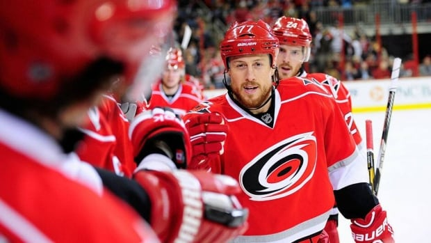 Joe Corvo, who's returning to the Ottawa Senators after a five-year absence, has had three separate stints with the Carolina Hurricanes in the interim.