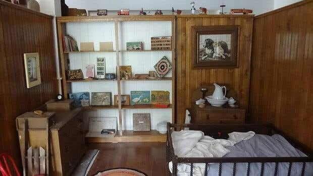 The Bedeque museum contains about 3,000 artifacts donated by a local historian.