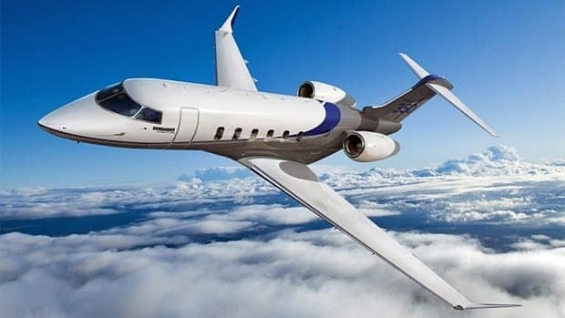 Bombardier announced Tuesday that VistaJet has put in an order for 40 of its Challenger 350 business jets, above. The sale would be worth $1.035 billion at current list prices, although customers usually get a discount.
