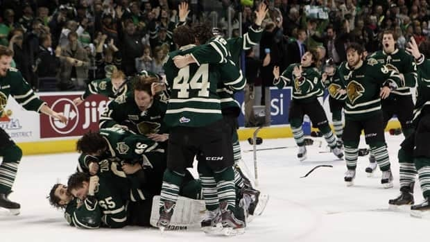 The London Knights, fresh off a last second goal Monday night to win the OHL championship, are guaranteed a return to the Memorial Cup next season.