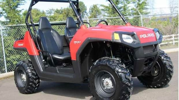 RCMP have set up a tip line after nearly two dozen ATV's similar to this one pictured have been stolen in the Interlake so far this year. (RCMP)