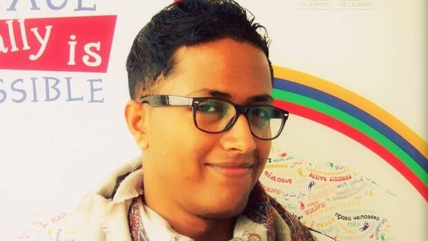 Ala'a Jarban became one of the first openly gay men in Yemen when he posted a blog entry in late May.