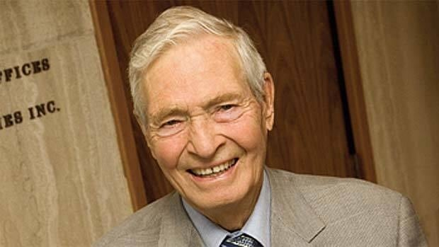 Edmonton community leader and philanthropist Harry Hole died at age 91.