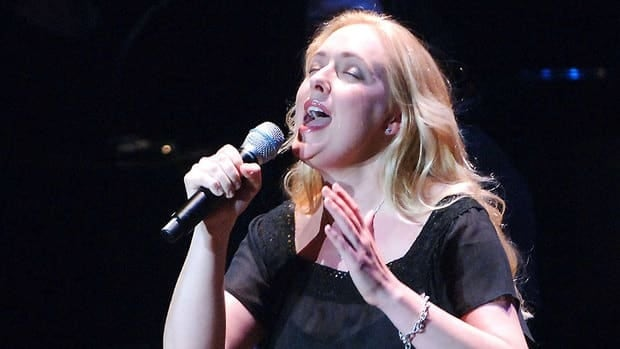 Singer Mindy McCready, seen performing in New York in 2006, was found dead at her home on Sunday.