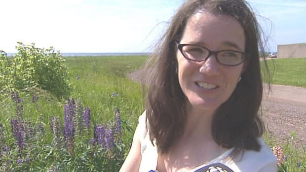 Karen Samis started her research into purple lupines last year.