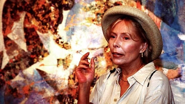 Canadian music icon Joni Mitchell, seen at a 2000 exhibition of her artwork, is collaborating with Alberta Ballet for a second dance piece inspired by her music.