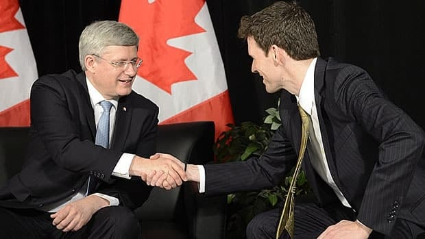 Prime Minister Stephen Harper introduced Andrew Bennett as Canada's first ambassador for the Office of Religious Freedom on Tuesday.