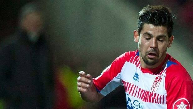Granada's Manuel Agudo Nolito, here in an earlier game this year, had the winner in a key win for Granada.