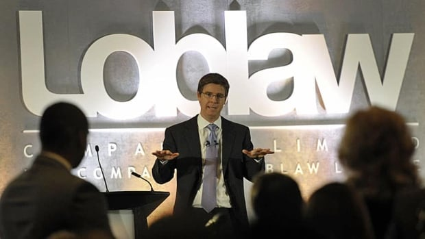 Loblaw profit was higher in part because of amendments the company made to its pension plan.