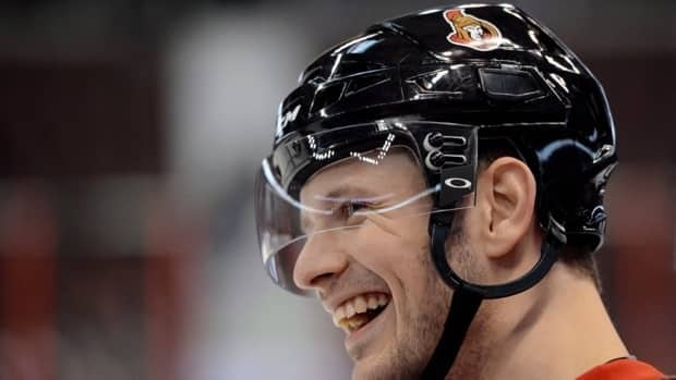 Ottawa Senators' Jason Spezza, seen here during training camp in January, had five points in five games before being sidelined with a back injury.