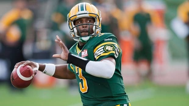 Steven Jyles had six touchdowns, but just as many interceptions with the Eskimos last season.