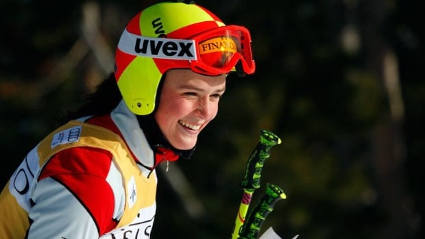 Canada's Marielle Thompson took the silver on Sunday in women's World Cup ski cross, finishing second behind World Cup leader and world champion Fanny Smith of Switzerland,