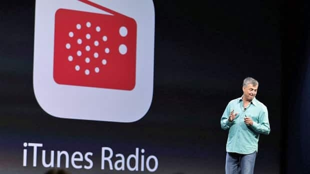 Eddy Cue, Apple's senior vice-president of Internet Software and Services, introduced iTunes Radio during the keynote address of the Apple Worldwide Developers Conference on June 10. The service will only be available in the U.S. when it launches.