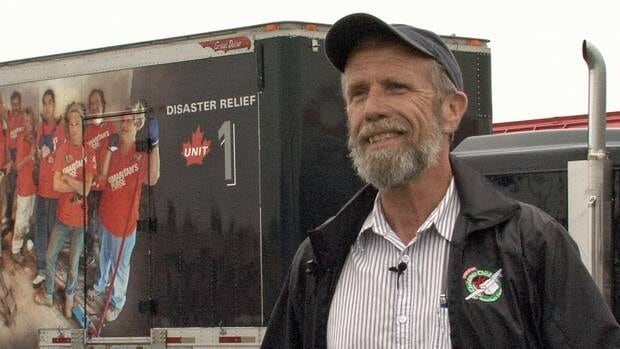 James VanMarrum is on his way out to southern Alberta to help flood victim's there. He is bringing them the Samaritan's Purse mobile disaster relief centre, which was also used during Thunder Bay's flooding last year.