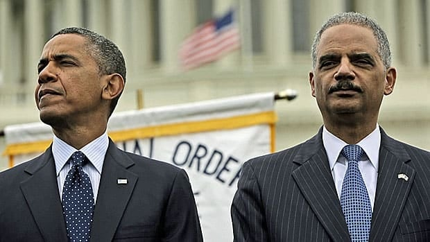 There have been more leak prosecutions under U.S. President Barack Obama, left, than under any previous U.S. administration.