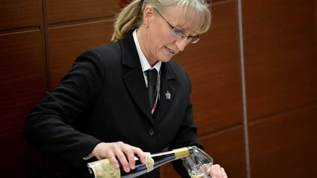 Quebec's Véronique Rivest placed second at a worldwide sommelier competition held Friday in Tokyo, Japan.