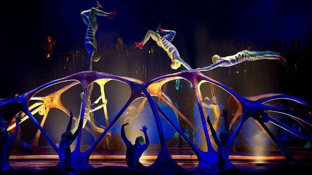 Cirque du Soleil opens in Calgary next week.