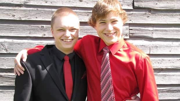 Dalin, 17, (left) and Logan Torresan, 14, were killed in a crash on Highway 16 Monday afternoon.