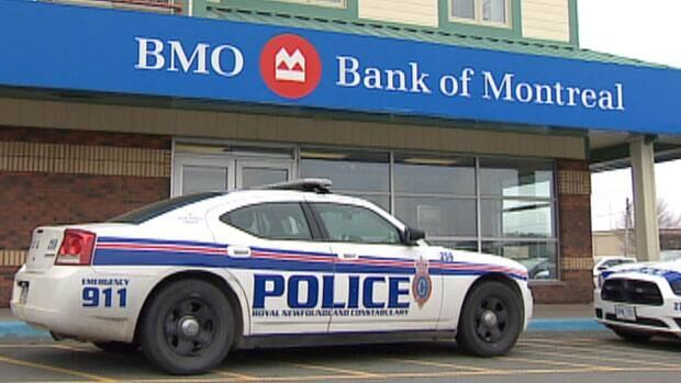 Police are on the scene of a mid-day bank robbery in St. John's.