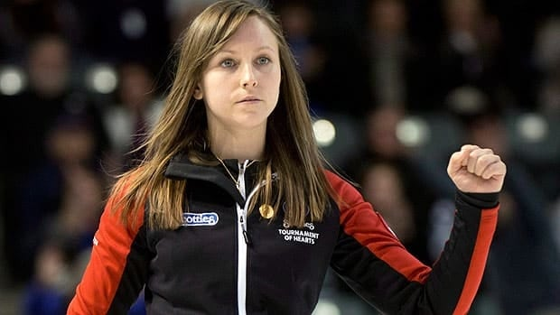 Rachel Homan won 12 of 13 overall en route to her first Canadian championship at the senior level.