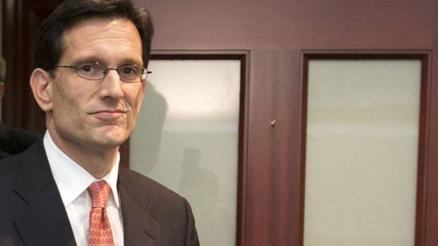 House Majority Leader Eric Cantor says Republicans are ready to support a measure that would give the U.S. government about three more months of borrowing authority.
