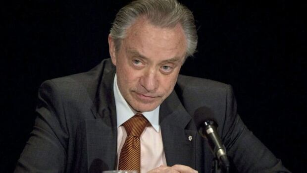 Paul Godfrey says the board of the Ontario Lottery and Gaming Corporation has resigned.