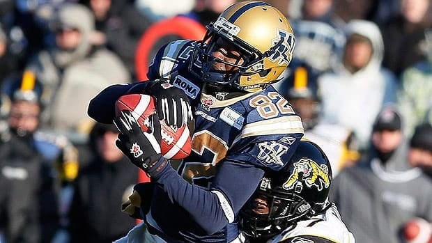 Winnipeg's Terrence Edwards is a two-time CFL all-star.