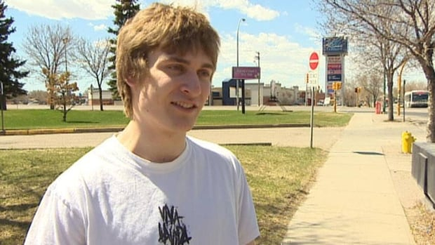 Evan Geissler, 18, says he hopes to fly to space after winning a contest.