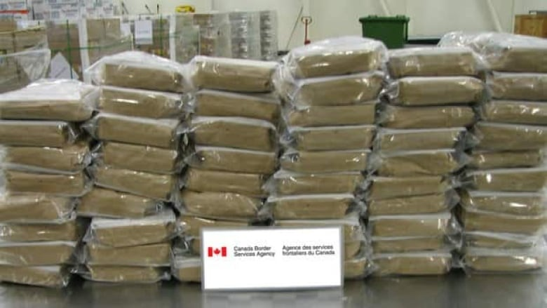 62 kilos of cocaine found in truck at B C  border crossing | CBC News
