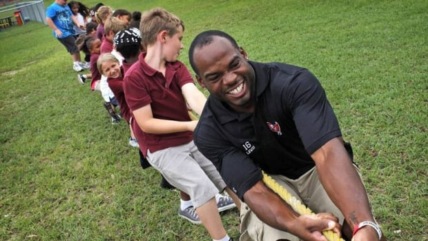 A school official said the students were participating in a lunchtime tug-of-war celebrating homecoming on Monday.