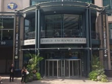 Empire theatre at the World Exchange Plaza, set to close by the end of 2013.